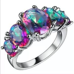 💍 BEAUTIFUL BAUBLE RING 💍 color changing size 10
